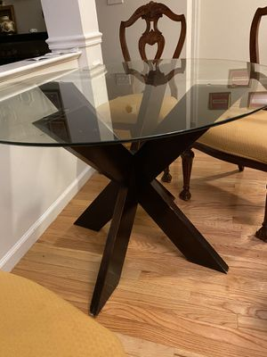 Breakfast table with 6 chairs for Sale in Bedford, MA