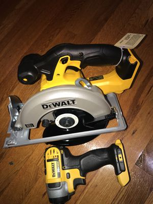 Dewalt combo 2 pieces new never used for Sale in Rockville, MD