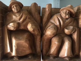 """Midcentury Wooden 7"""" Bookends for Sale in Miami,  FL"""