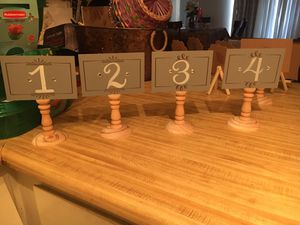 Table Numbers for Sale in San Diego, CA
