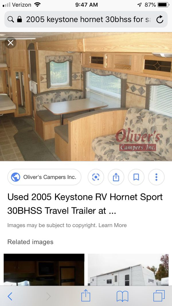 2005 Hornet Sport by Keystone RV Camper