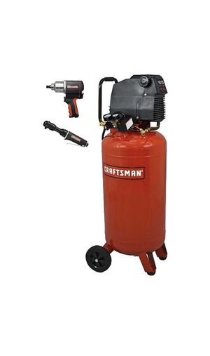 Craftsman air compressor with impact gun and wrench for Sale in Antioch, CA