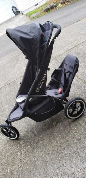 Phil&Teds classic inline double stroller for Sale in Portland, OR