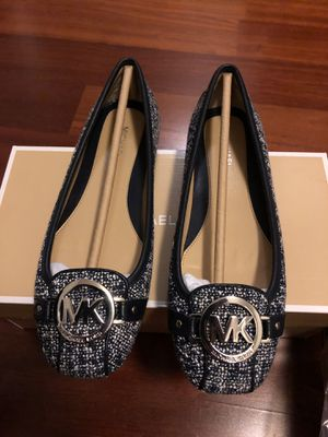 Michael Kors Tweed Flats Brand New Size 6 for Sale in Chicago, IL