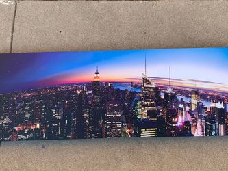 Panoramic City View Canvas for Sale in San Angelo,  TX