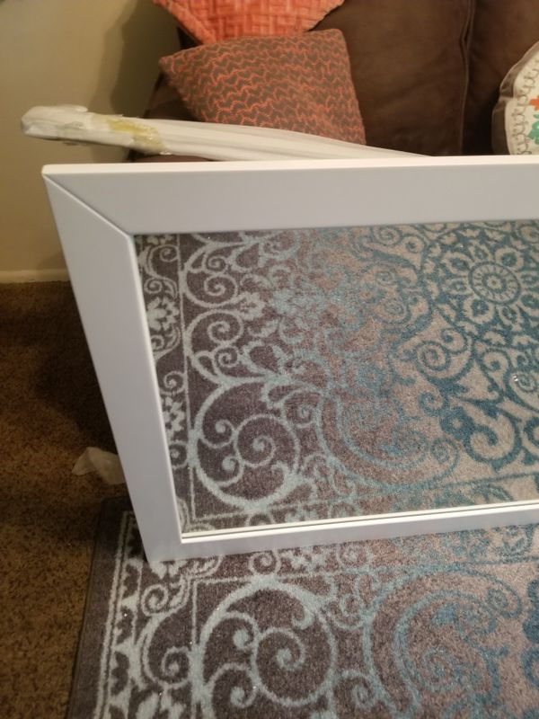 NEW! Large Mirror with a wall shelf 6ftx3ft