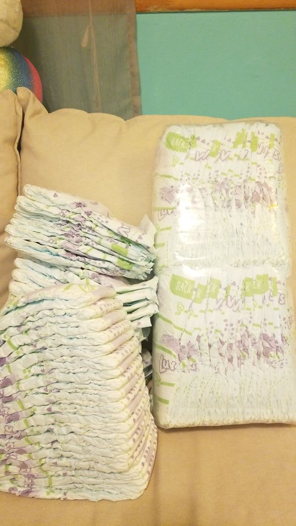 Free Luvs diapers size 6