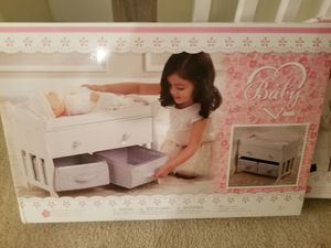 Baby bed and highchair for Sale in Goose Creek, SC