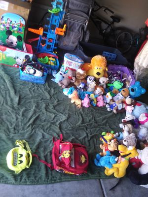 Kids Toys, Books, Stuffed Animals, Booster Seats & Baby Backpacks for Sale in Yuma, AZ