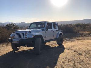 Jeep Wrangler Sahara jku manual!!! 3.6 v6 for Sale in San Diego, CA
