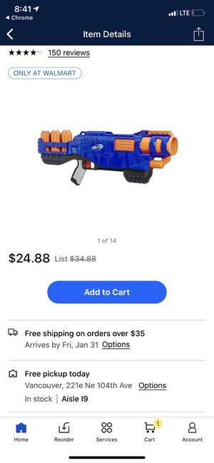 Nerf Gun Trilogy for Sale in Portland, OR