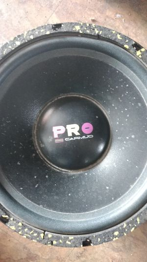 12 inch pro audio sub.single coil 600 watts for Sale in Colton, CA