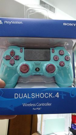 Blueberry PlayStation 4 Dualshock wireless controller PS4 Sony aftermarket new for Sale in Phoenix,  AZ