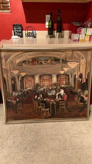 Colorado casino/auction painting for Sale in Denver, CO