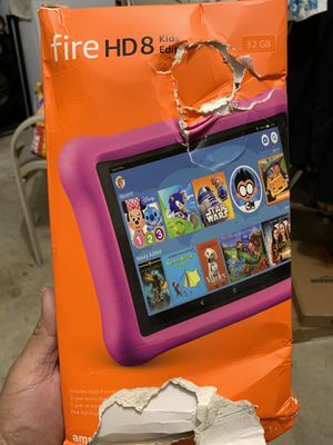 Fire 8 tablet kids edition 32gb.....$50 for Sale in Houston, TX
