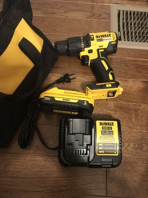 Dewalt Drill regular battery end charger brushless new never used for Sale in Silver Spring, MD
