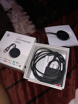 Chromecast Ultra for Sale in Fontana, CA