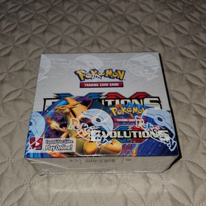 Pokemon XY Evolution Booster Box Sealed for Sale in Queen Creek, AZ