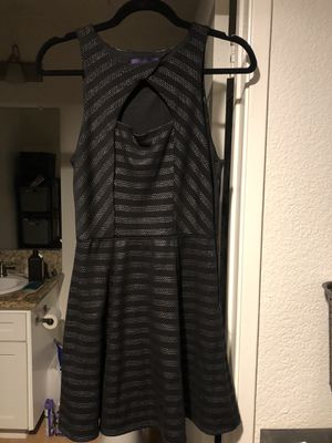 Forever 21 black and silver dress for Sale in Rancho Cucamonga, CA