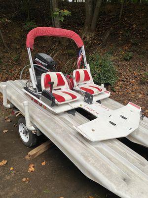 CraigCat Powerboat Pontoon Catamaran for Sale in Gainesville, GA