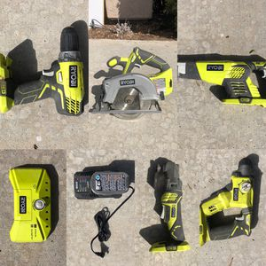 Assorted Ryobi tools and battery for Sale in San Marcos, CA