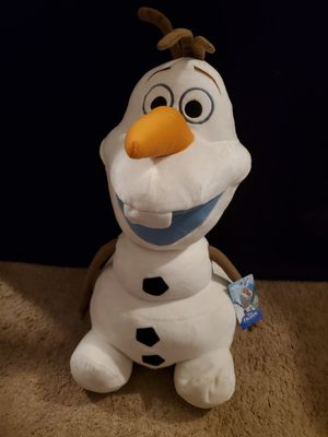 Large Olaf stuffy for Sale in Baltimore, MD
