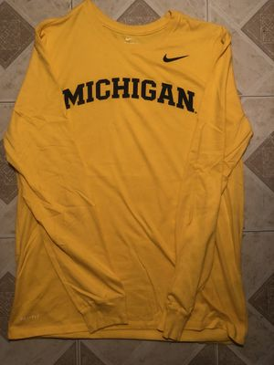 Nike Michigan shirt for Sale in Alexandria, VA
