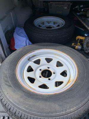 Trailer wheels for Sale in Jacksonville, FL