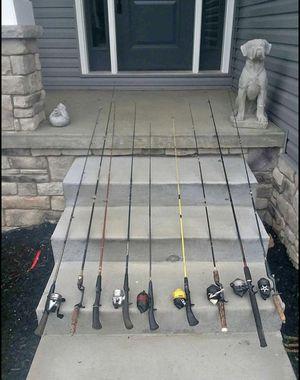 Vintage & not fishing rods -$75 for Sale in Landover, MD