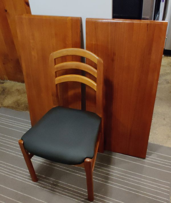 Vintage teak table with chairs
