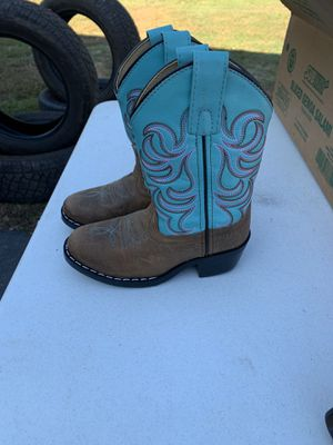 Little girl cowgirl boots for Sale in Walkertown, NC