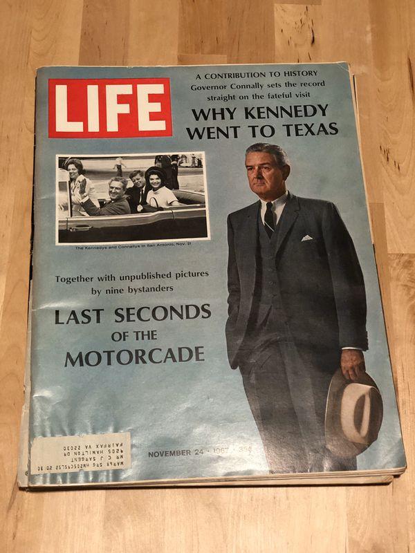 LIFE Magazine 1963 JFK Memorabilia