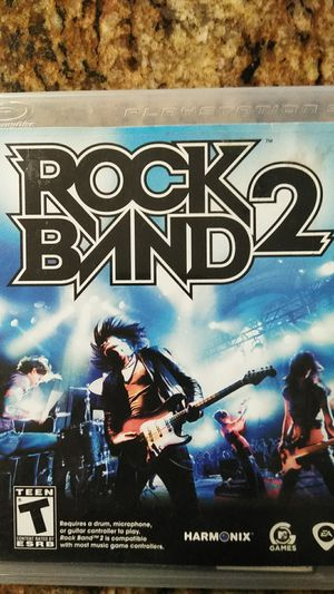 Rock band 2 PlayStation game for Sale in Highland, CA