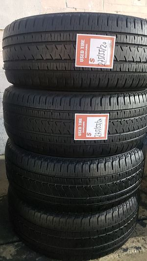 04 matching Bridgestone tires for sale 275/55/20 for Sale in Washington, DC