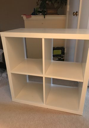 "IKEA KALLAX Shelf unit, white, 30 3/8x30 3/8 "" for Sale in Springfield, VA"