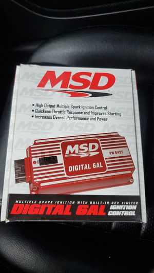 Msd 6al rev limiter for Sale in Bluefield, WV