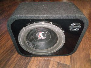 "1 12"" old school kicker impulse for Sale in Humble, TX"