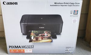 Canon wireless 3 in 1 printer for Sale in Bellevue, TN