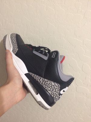 Black Cement 3s for Sale in Phoenix, AZ