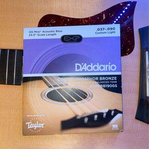 D'Addario GS Mini Acoustic Bass Strings for Sale in Addison, IL