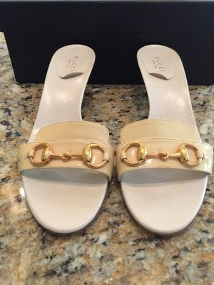 Gucci kitten heel open toe Shoes Heels 7.5 b for Sale in West Palm Beach, FL