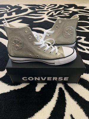 Brand new Women's gold converse size 7 for Sale in Aldie, VA