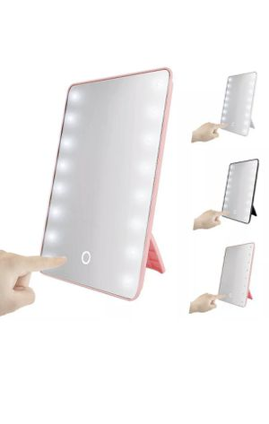 16 LED Light Vanity Mirror 10X Magnifying Touch Screen Makeup Cosmetic Stand for Sale in Peoria, AZ