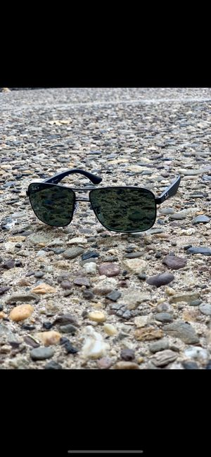RayBan Polarized Navigator Sunglasses - Black Frames/ Green Tinted Lenses for Sale in MIDDLE CITY WEST, PA