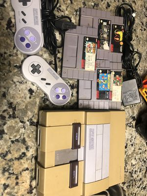 Super Nintendo snes for Sale in Sanger, CA