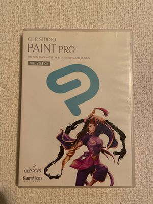 Clip Studio PAINT Pro the new standard for illustrations and comics Full Version by celsys SmithMicro software for Sale in Pawtucket, RI