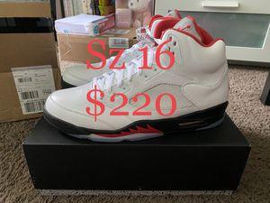 Jordan 5 fire red for Sale in Garden Grove, CA