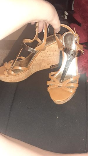 Name brand! Cute wedges and casual heels ♡ for Sale in Pinellas Park, FL