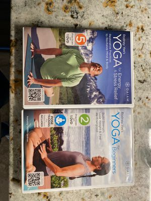 Rodney Yee's Yoga DVDs for Sale in Liberty, NC
