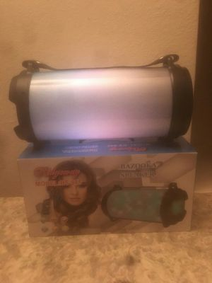 Bluetooth Speaker W/ Flashing Lights for Sale in Los Angeles, CA